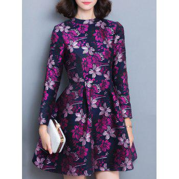 Floral Fit and Flare Dess