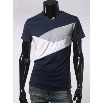 V Neck Short Sleeve Slimming T-Shirt