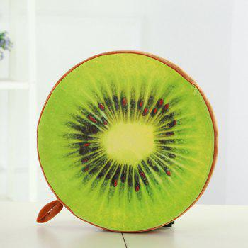 Home Decor Kiwi Fruit Seat Cushion Back Buttock Pillow
