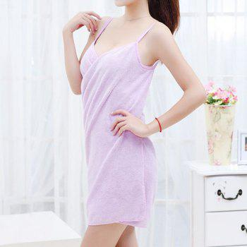 Bathroom Super Absorbent Magic Bath Skirt Towel