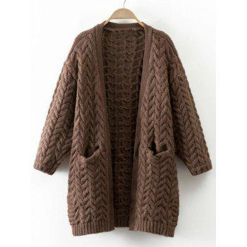 Warm Pocket Lambdoidal Cardigan