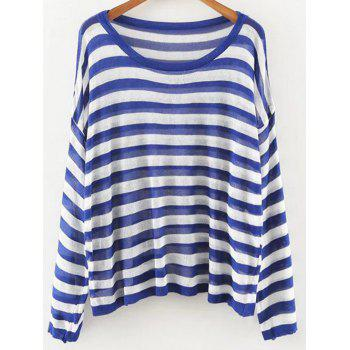 Striped Oversized Knit Jumper