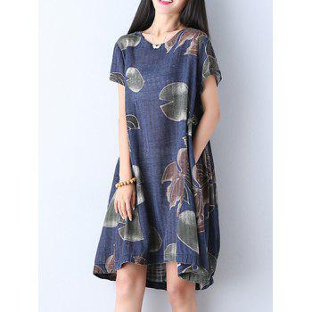 Floral Print Shift Country Dress