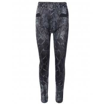 Abstract Print Jeggings