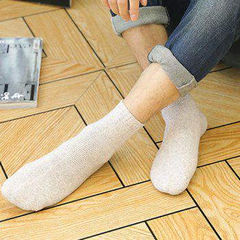 One Set Winter Casual Thick Socks -  COLORMIX