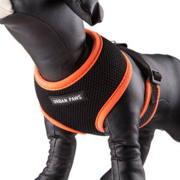 Breathable Mesh Cloth Puppy Dog Chest Straps - L L