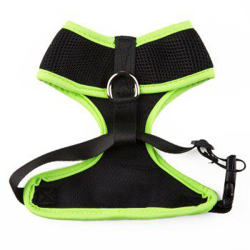 Breathable Mesh Cloth Puppy Dog Chest Straps - M M