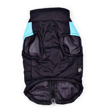 Outroor Waterproof Pet Dog Waistcoat Jacket Clothes - BLUE BLUE