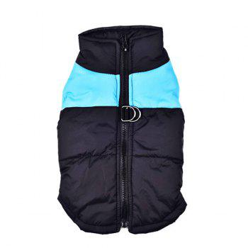Outroor Waterproof Pet Dog Waistcoat Jacket Clothes - BLUE S