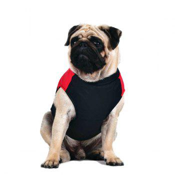 Outroor Waterproof Pet Dog Waistcoat Jacket Clothes - RED S
