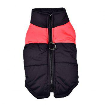 Outroor Waterproof Pet Dog Waistcoat Jacket Clothes - RED RED