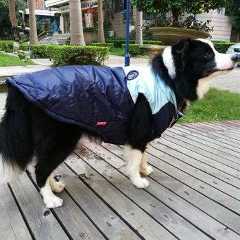 Winter Waistcoat Jacket Clothes For Pet Dog - DEEP BLUE S