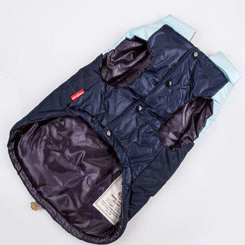 Winter Waistcoat Jacket Clothes For Pet Dog - DEEP BLUE DEEP BLUE