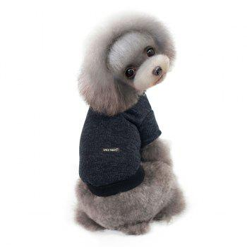 Knitting Sweater Winter Outwear Puppy Clothes - L L