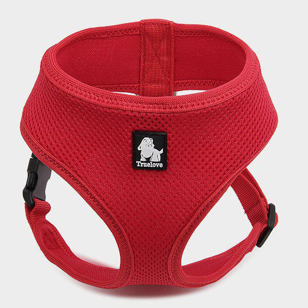 Pet Vest Collar Walking Safety Puppy Strap Clothes - RED S