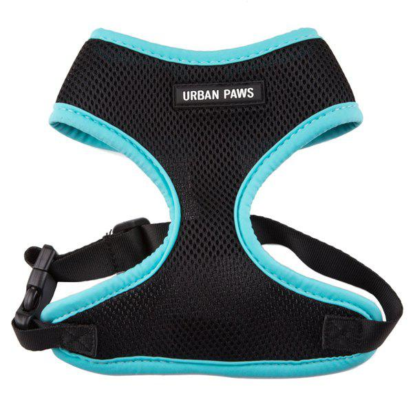 Breathable Mesh Cloth Puppy Dog Chest Straps - BLUE M