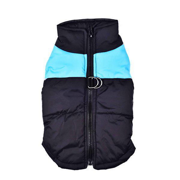 Outroor Waterproof Pet Dog Waistcoat Jacket Clothes - BLUE L