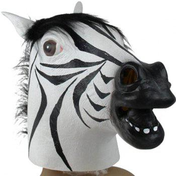 Halloween Party Cospaly Zebra Head Mask Prop
