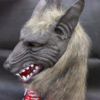 Horror Halloween Party Wolf Head Cospaly Prop Mask