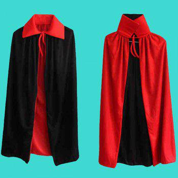 Halloween Cospaly Costume AB Wear Death Cloak - RED/BLACK