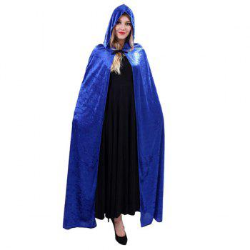 Fancy Dress Halloween Cospaly Witch Hooded Cloak