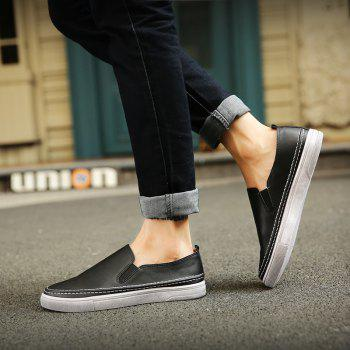 Broder Elastic Band Couleur Noir Chaussures Casual - [