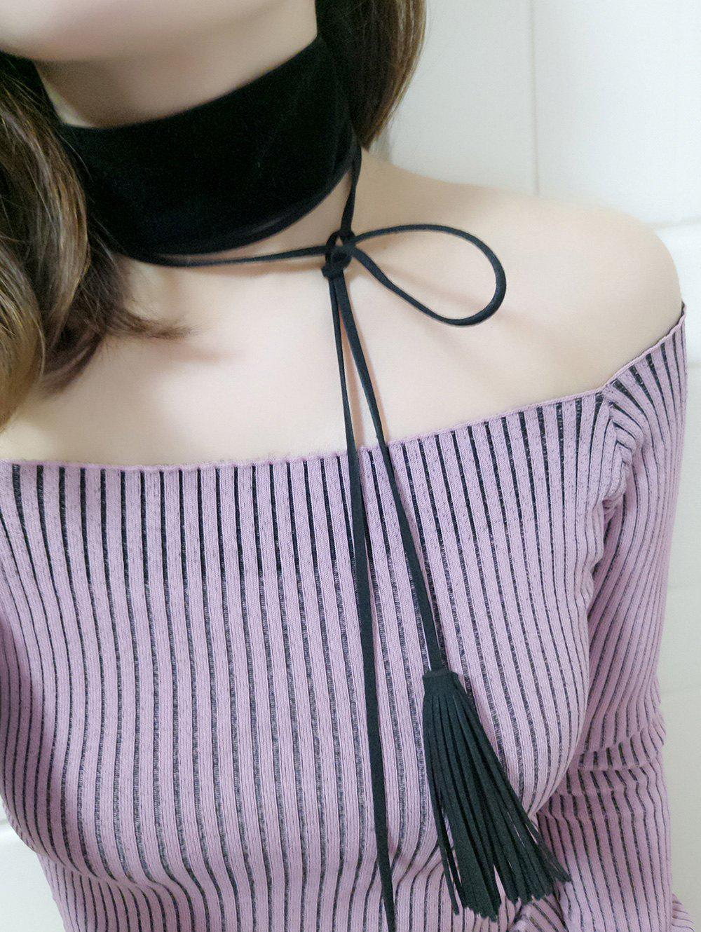Chic Velvet Necklace