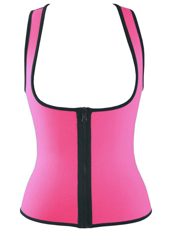 Double Side Sports Skinny Tank TopWomen<br><br><br>Size: M<br>Color: ROSE RED
