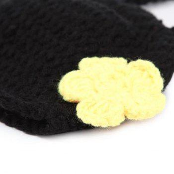 Crochet Bee Baby Photography Prop Costume Set -  BLACK