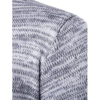 Space Dyed Crew Neck Sweater - M M