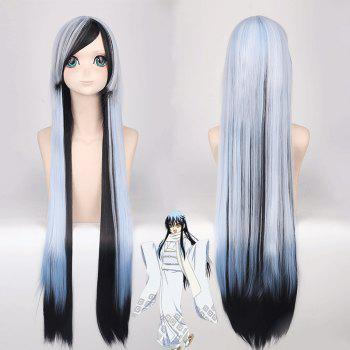 Long Side Bang Straight Cosplay Yuki Onna Nurarihyon No Mago Synthetic Wig