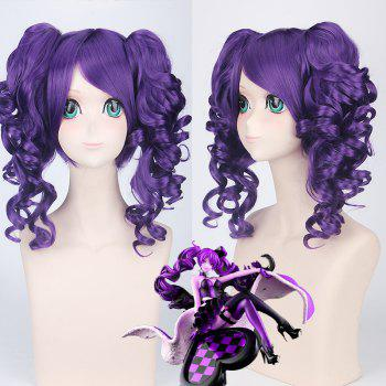 Medium Side Bang with Curly Bunches Cosplay Vivaldi Kingdom Hearts Synthetic Wig