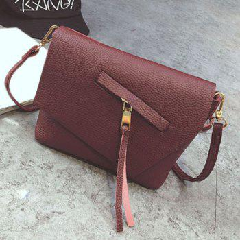 Asymetric Flap Crossbody Bag