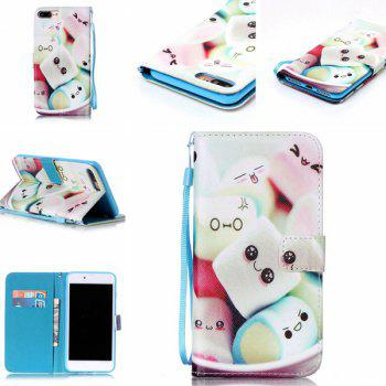 Cartoon Bun PU Wallet Card Case For iPhone 7 Plus - COLORMIX COLORMIX