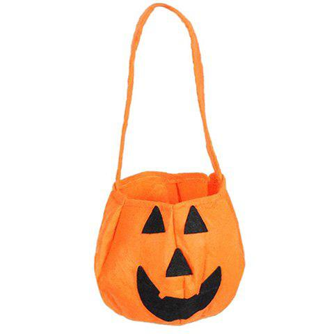 pumpkin shaped halloween handbag orange - Halloween Handbag