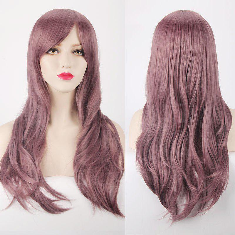 Multicolor Long Layered Tail Adduction Side Bang Cosplay Lolita Synthetic Wig аксессуары для косплея cosplay wig cosplay cos cos