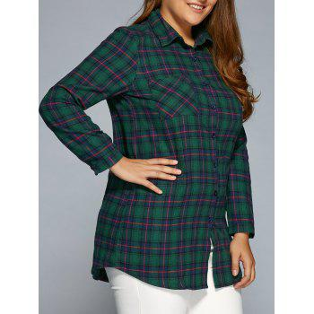 Plus Size Thick Plaid Shirt