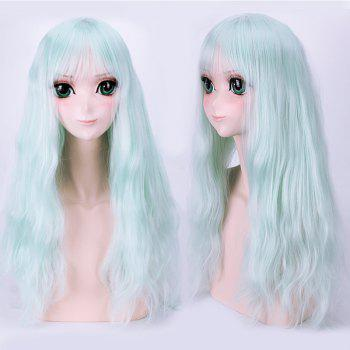 Long Full Bang Fluffy Slightly Wavy Lolita Cosplay Harajuku Synthetic Wig