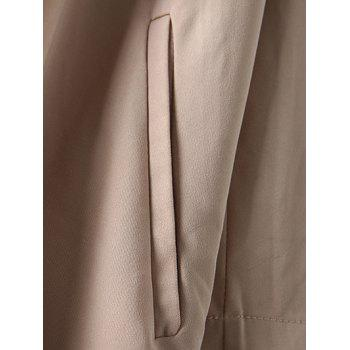 Coulissée Relaxed Trench Coat - Kaki L
