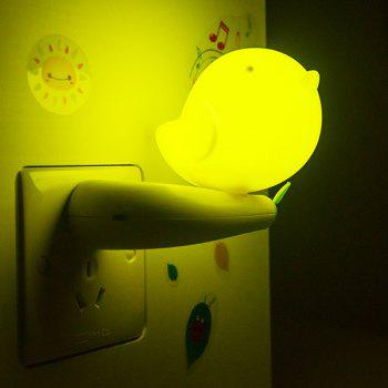 Light Control Bedside Desk LED Bird Cartoon Night Light