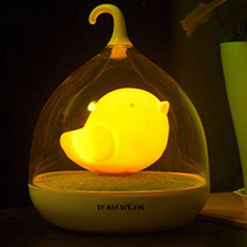 Fun Troopial Cage Induction Touch Goddess Night Light -  YELLOW