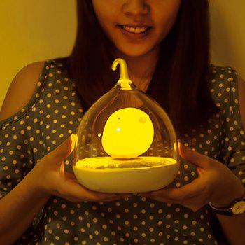 Fun Troopial Cage Induction Touch Goddess Night Light - YELLOW YELLOW