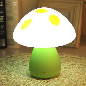 Induction Touch LED Eyecare Mushroom Study Lamp Night Light
