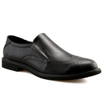 Slip On Engraving Shoes