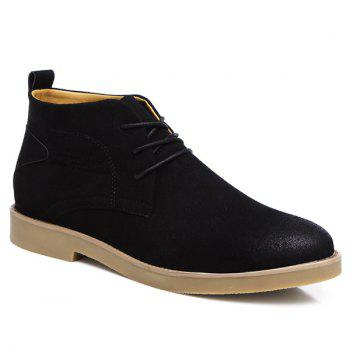 Pointed Toe Tie Up Casual Shoes