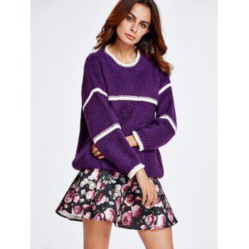 Chunky Sweater and Rose Skirt Set - S S