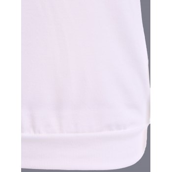 Leopard Sport Fitting T-shirt - Blanc S