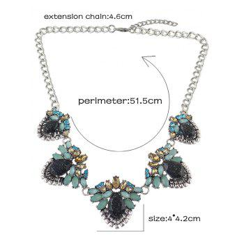 Strass Collier Fruit - Argent