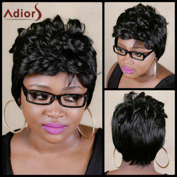 Adiors Fluffy Short Curly High Temperature Fiber Wig