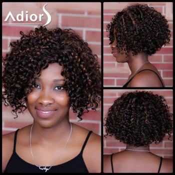 Adiors Highlight Curly Side Parting Short Synthetic Wig